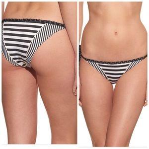 PAOLITA Mayflower Tie-side Bikini Black White Mec